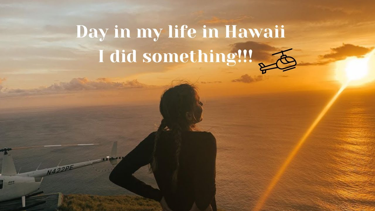 I am getting a Helicopter license In Hawaii/ VLOG