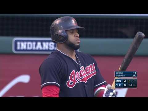 August 01, 2016-Minnesota Twins vs. Cleveland Indians