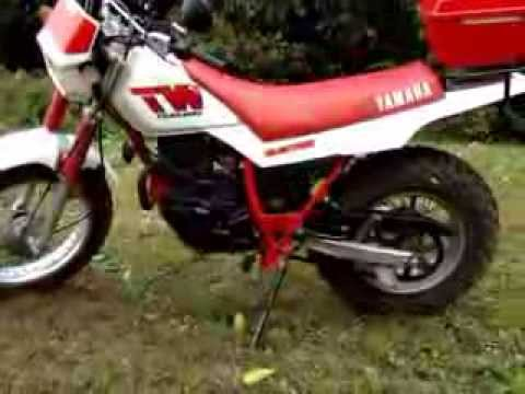 1987 Yamaha TW200 - YouTube