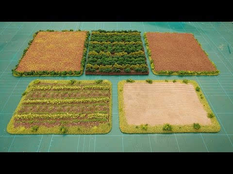 Let's Make - Cheap & Easy Farm & Crop Fields Scatter Terrain