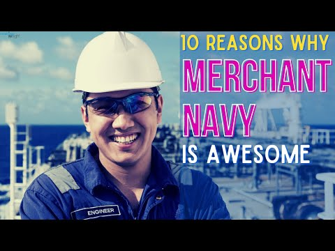 10 Reason Why Maritime Is AWESOME (Career In Merchant Navy)