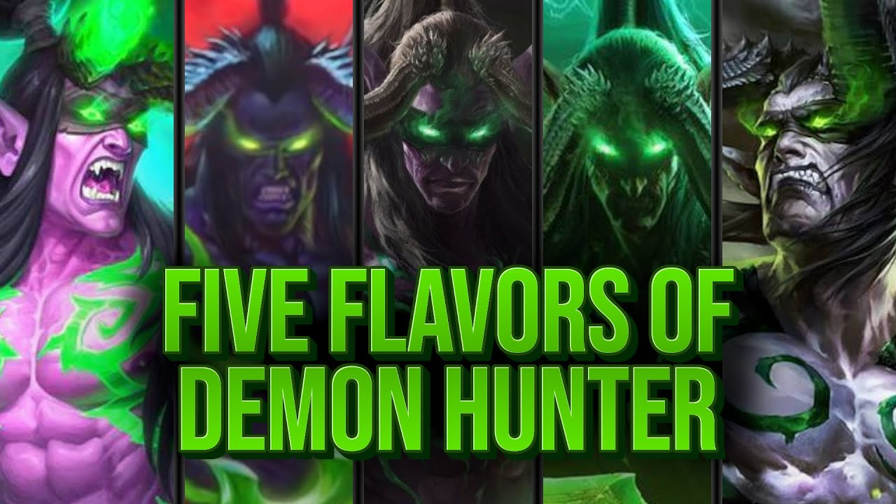 5 Games 5 Different Demon Hunters | Dude Paladin | Madness at the Darkmoon Faire | Hearthstone