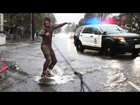 Thumbnail: Flood Surfing with LAPD!