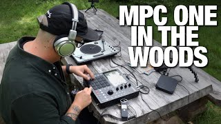 Beatmaking + scratching in the woods!
