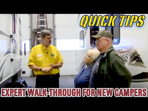 Expert Walk-Through a Must for New Camper Owners | Pete's RV Buyer Tips