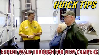 Expert Walk-Through a Must for New Camper Owners | Pete