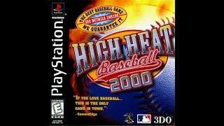 High Heat Baseball 2000 (PlayStation)