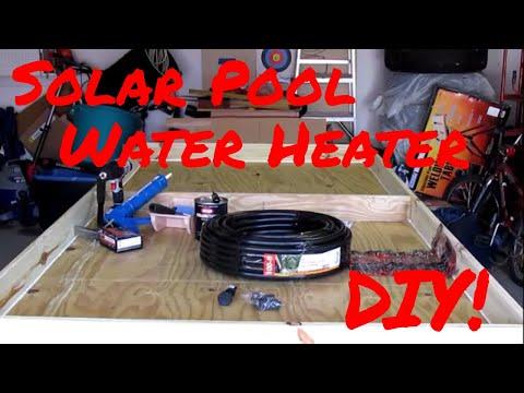 How To Build A Solar Pool Heater – DIY!