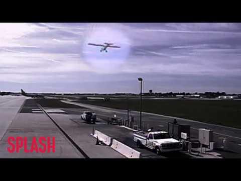 Video of Harrison Ford Making Dangerous Landing | Splash News TV