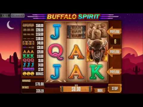 Custom slot machine software. Buffalo Spirit slots for street operations from Inbet Games