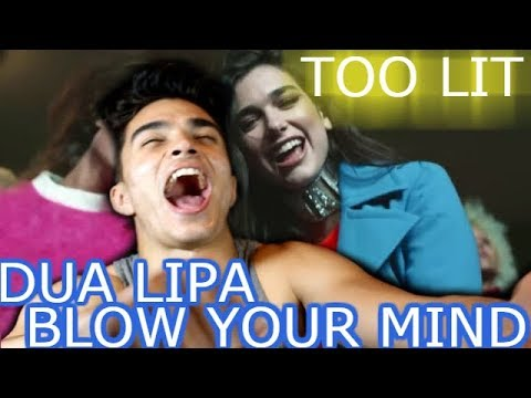 Dua Lipa-BLOW YOUR MIND Reaction (hot af)