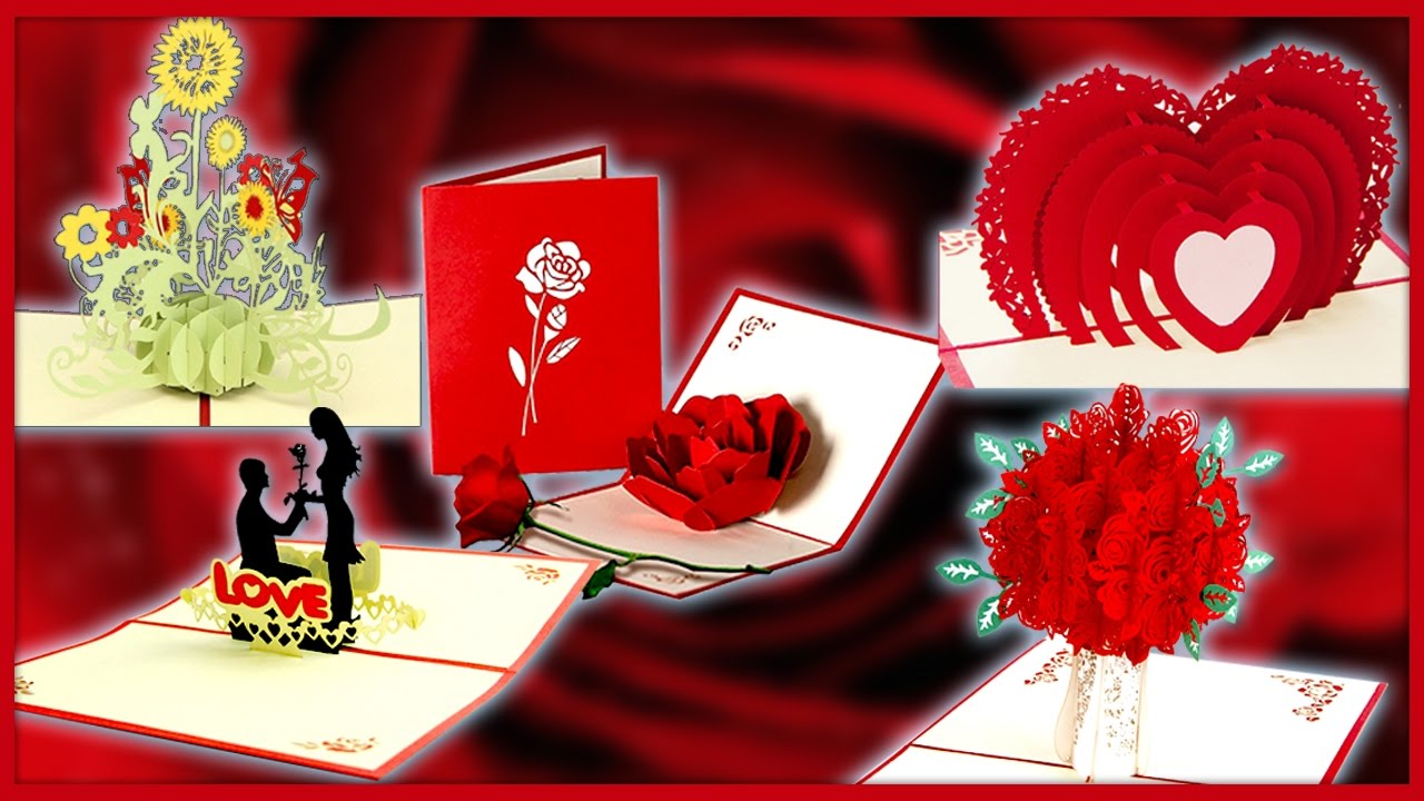 5 3D Happy Valentines Card for Your Dearest – Send a Valentines Card