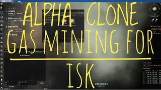 Eve Online - Gas mining and Scanning tutorial for Alpha clones