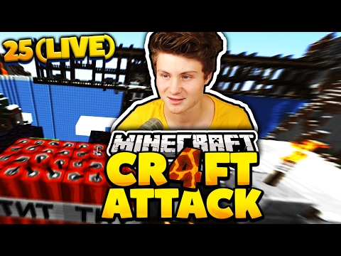 Craft Attack #25 | GEHEIMER TNT PLAN + DUELL MIT REWI | Dner