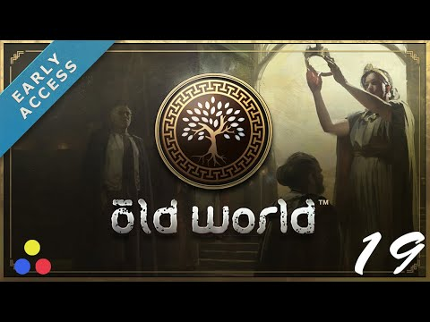 New Civ-Like Game - Old World | Greece Let's Play | Episode 19 [Short Reign]