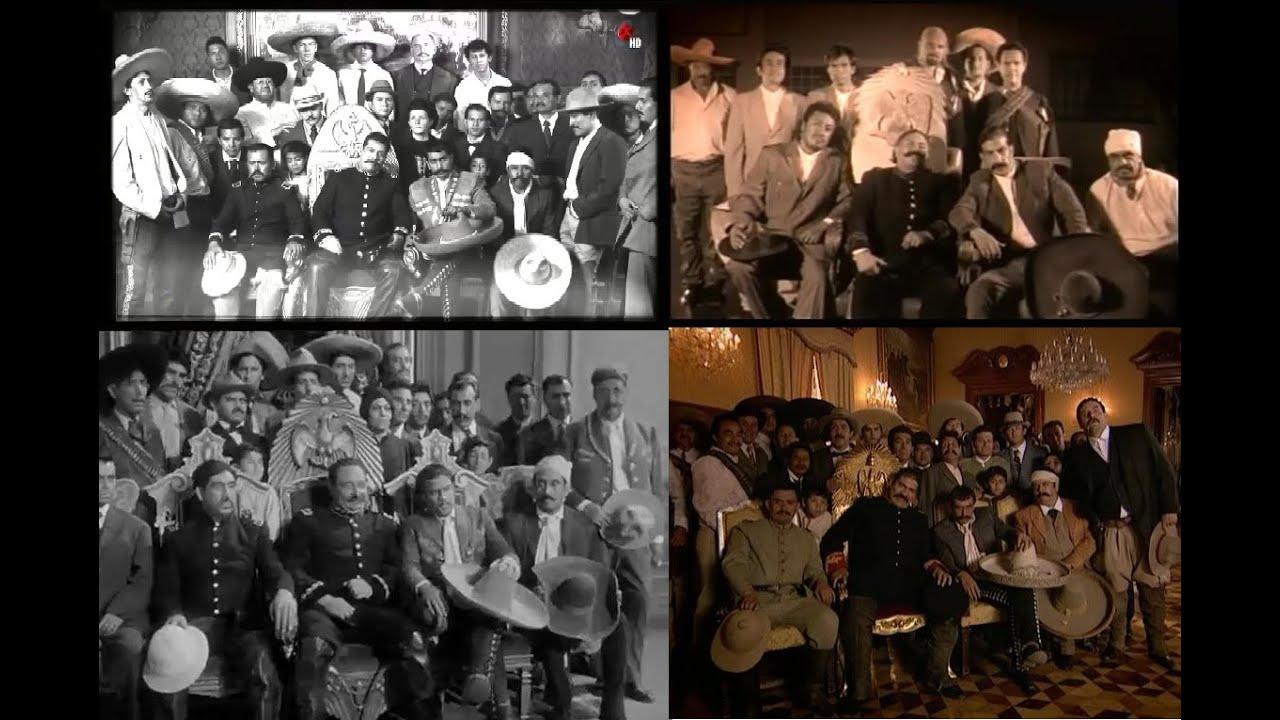 Encuentro villa y zapata la silla presidencial youtube for Silla presidencial