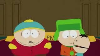 Kyle hace llorar a cartman solo por un golpe :0(por navidad y los regalos) jaja me dio risa xD
