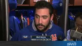 Matt Harvey talks Mets loss in World Series