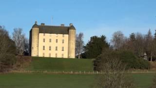 December Methven Castle Perthshire Scotland