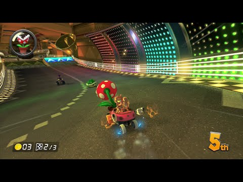 Pink Gold Peach Mario Kart 8