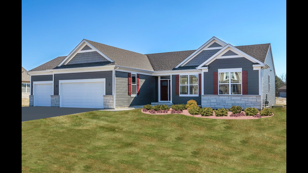 New Ranch Home Plan by KLM Builders - The Roosevelt II Ranch in Richmond IL