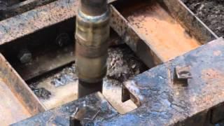 Бурение скважины на воду на мгбу инф-80 старого образца