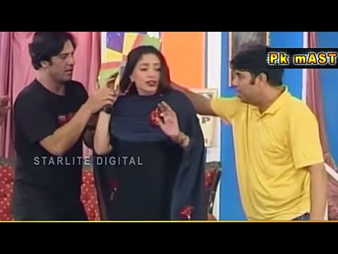 Best Of Tahir Anjum and Rubi Anum with Naseem Vicky Pakistani Stage Drama Comedy Clip | Pk Mast