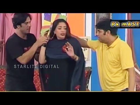 Best Of Tahir Anjum and Rubi Anum with Naseem Vicky Pakistani Stage Drama Comedy Clip   Pk Mast