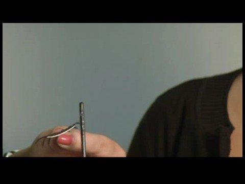 How to Apply False Eyelashes : Using Feather Eyelashes - 동영상
