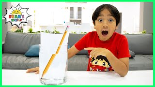 3 Water Easy Science Experiments for kids to do at home!