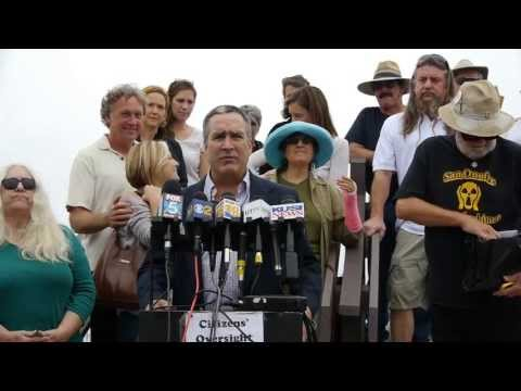 San Onofre Shut Down Activist Press Conference