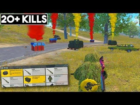 SO MANY DROPS & AWM'S! | 20+ KILLS | PUBG Mobile