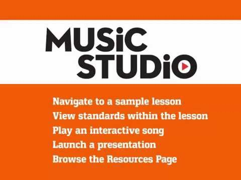 How to Navigate to a Lesson in Music Studio