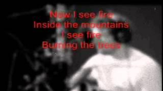 Ed Sheeran - I See Fire karaoke (guitar & bass)