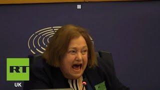 Assange wins EU journalism award while behind bars Video