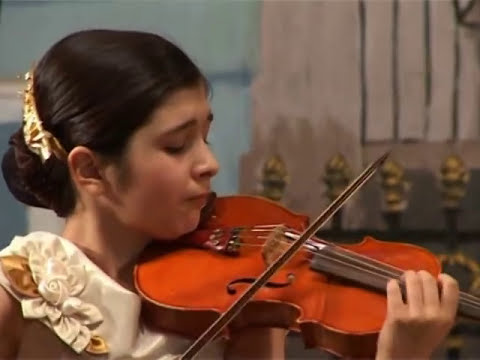Bach - Rimma Benyumova with Kremlin Orchestra- concert for violin and orchestra