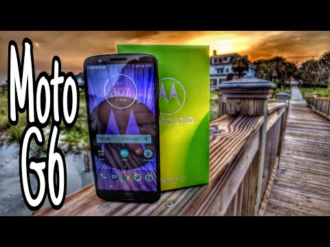 Motorola Moto G6 - 2018  - UNLOCKED Only $240 Review