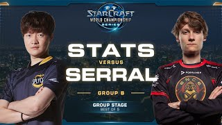 Stats vs Serral PvZ - Group B - 2019 WCS Global Finals - StarCraft II