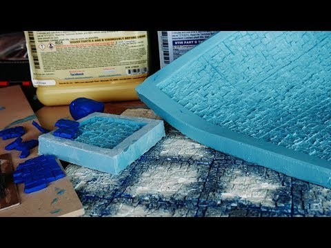 High Detail Resin Tiles for FROSTGRAVE - Part ONE