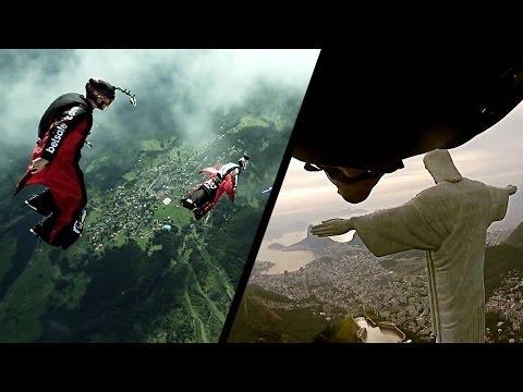 Best Wingsuit Flights, BASE Close Calls & Impossible Stunts, PF 2013 | The Perfect Flight, Ep. 8