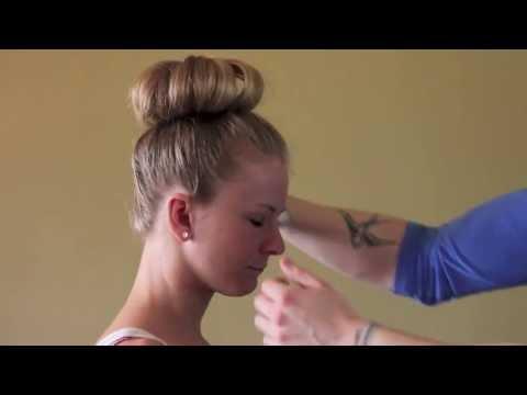 Ballet Bun For Short Hair Youtube