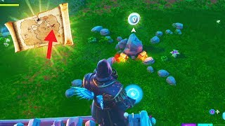 the New V-BUCK TREASURE HUNT in Fortnite.. (Find FREE V-Bucks)