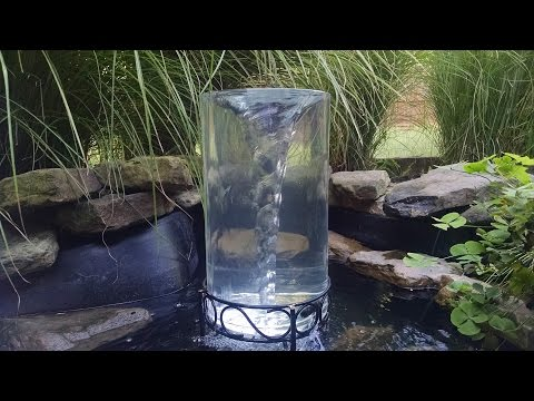 'On The Fly... DIY' Vortex Water Feature