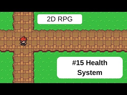 Topdown 2D RPG In Unity - 15 Health System thumbnail