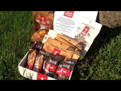 Caveman Food Bars : Trail food: caveman foods meat snacks & nutrition bars youtube