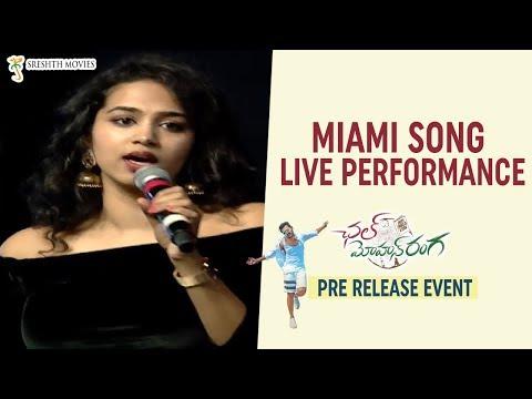Miami Song LIVE Performance | Chal Mohan Ranga Pre Release Event | Nithiin | Megha Akash