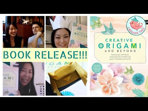 BOOK RELEASE!!! Creative Origami & Beyond | Meet the Authors & Learn How to Fold an Origami Owl!
