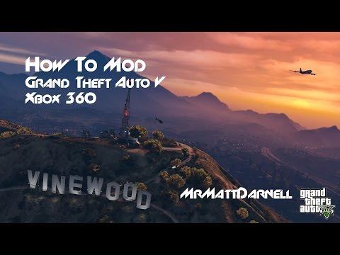 How To Mod GTA V (Xbox 360)