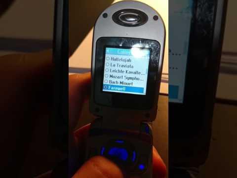 LG VX3200 Verizon Ringtones