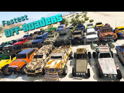 GTA V Online Which is the Fastest Offroad Vehicle | Top Speed